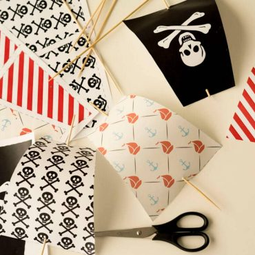 Piratengeburtstag Segel Einladung Vorlage