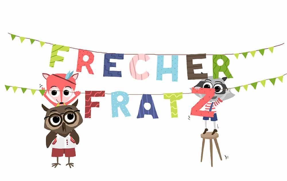 Frecher Fratz_Kindergeburtstag_Ideen_Logo