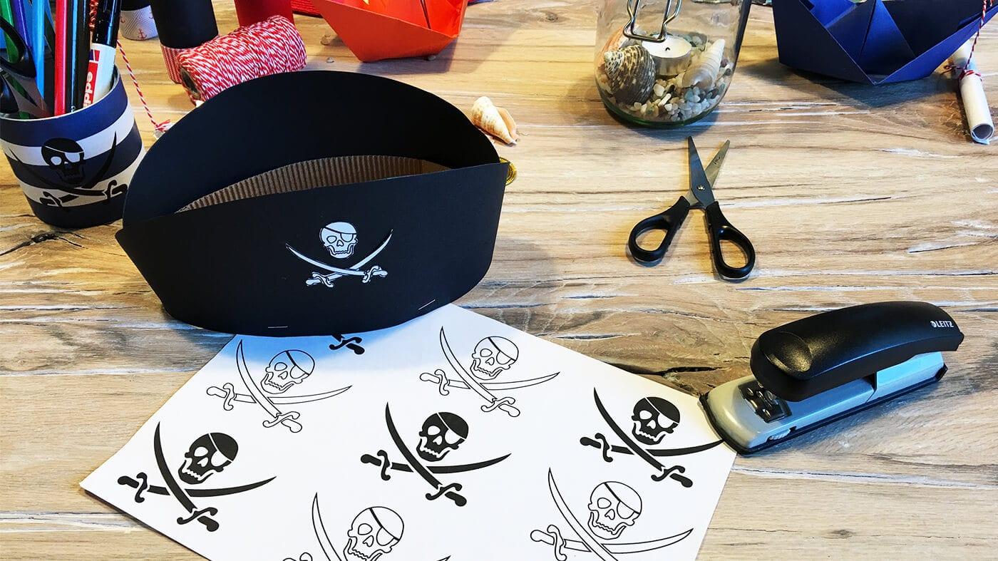 Piratengeburtstag_Piratenhut_Basteln_Anleitung