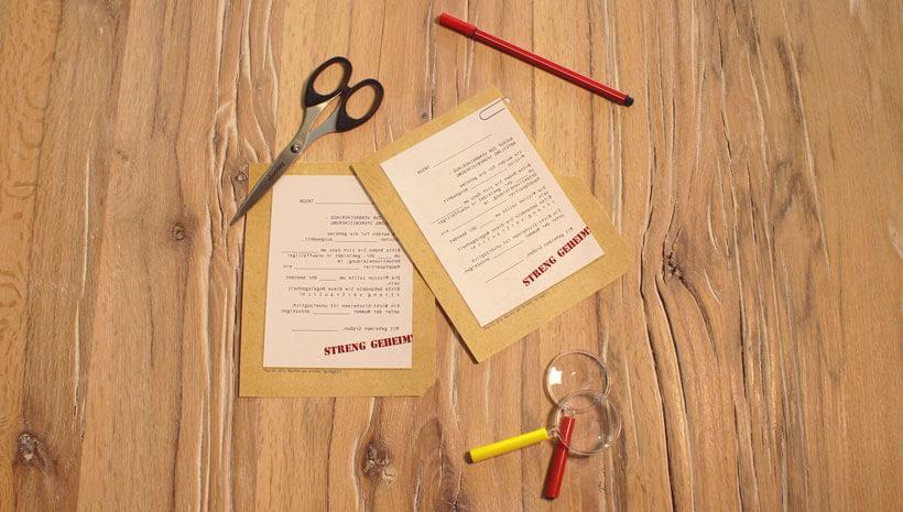 Detektiv-Kindergeburtstag-Einladung-Mappe