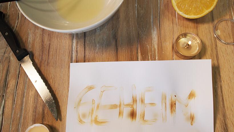 Detektiv-Kindergeburtstag-Zitronensaft-Geheimschrift-Schritt6