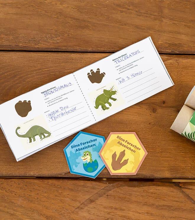 Dino-Kindergeburtstag-Forscherbuch-Shop09