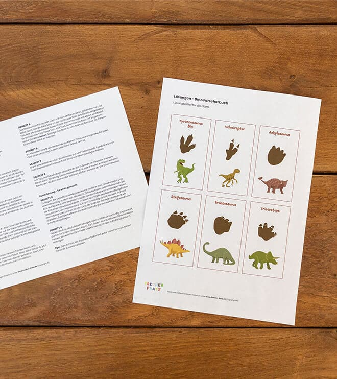 Dino_Kindergeburtstag_Forscherbuch