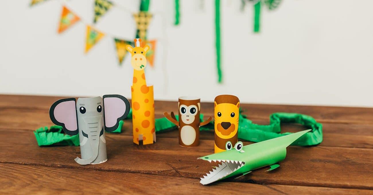 Dschungel-Geburtstag-Dschungeltiere