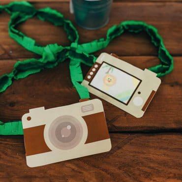 Dschungel-Kamera-Dschungelgeburtstag