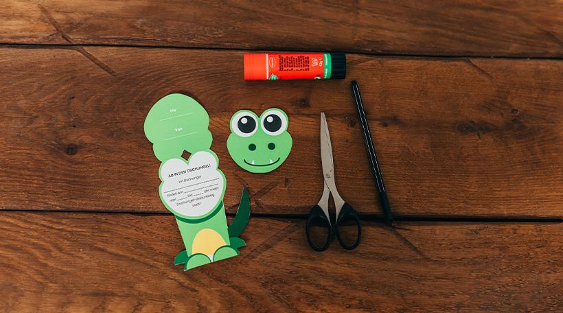Dschungel-Kindergeburtstag-Einladung-Kindergeburtstageinladung-Alligator