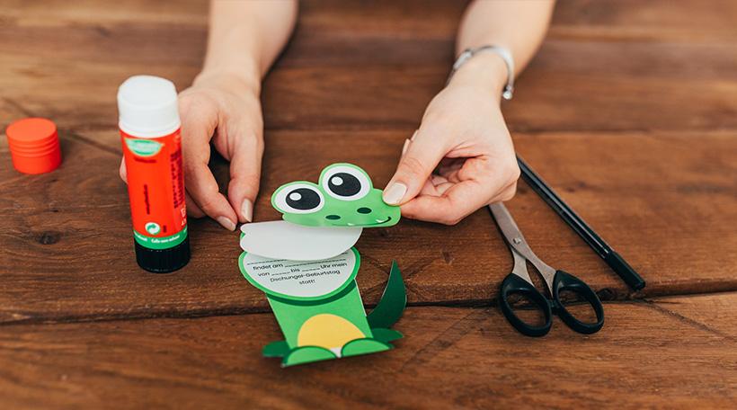 Dschungel-Kindergeburtstag-Einladung-Kindergeburtstageinladung-Anleitung-Krokodil