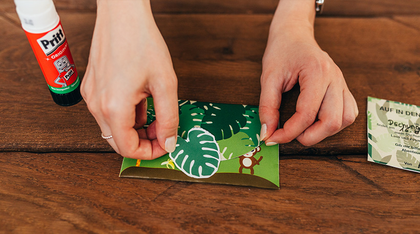 Dschungel-Kindergeburtstag-Einladung-Kuvert-Brief-Anleitung-DIY-Bastelvorlage