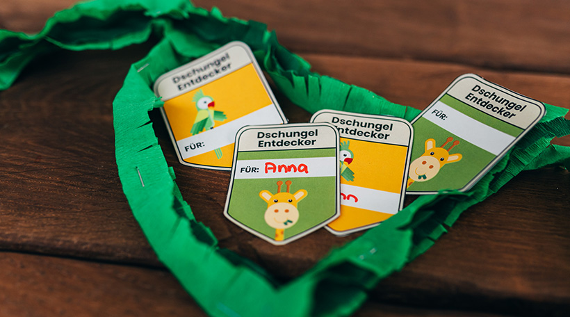 Dschungel-Kindergeburtstag-Entdecker-Ausweis-Dschungelgeburtstag