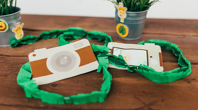 Dschungel-Kindergeburtstag-Kamera-Selbermachen-DIY-Bild