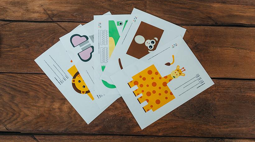 Dschungel-Kindergeburtstag-Klapapierrollen-Tiere-Basteln-Vorlagen