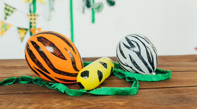 Dschungel-Kindergeburtstag-Luftballon