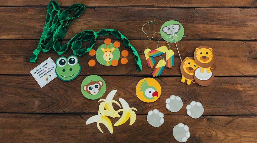 Dschungel-Kindergeburtstag-Schatzsuche-Kinder