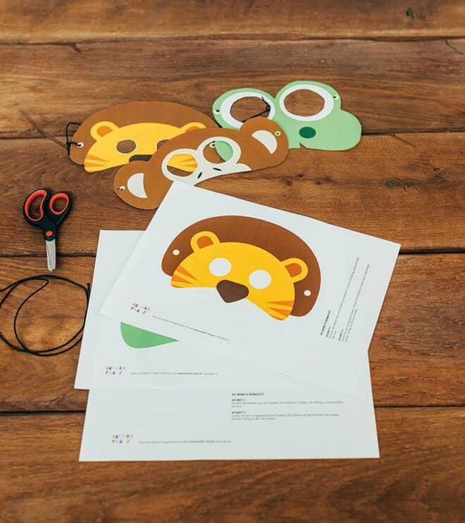 Dschungel-Kindergeburtstag-Tiermaske-Loewe-shop01