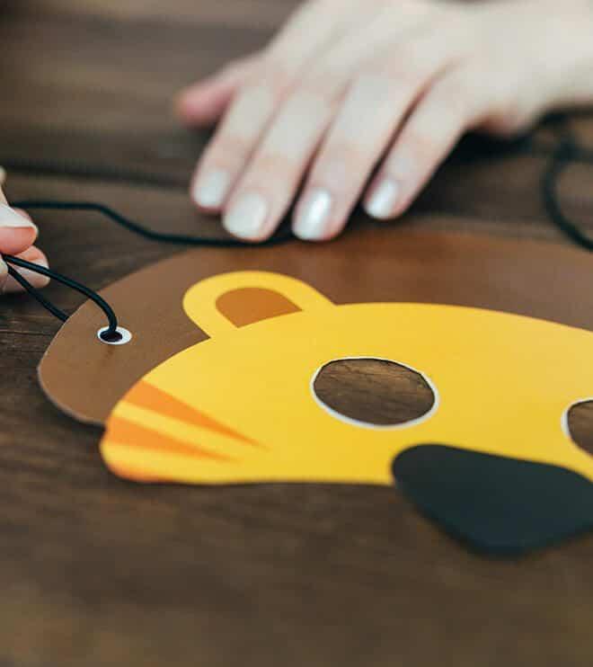 Dschungel-Kindergeburtstag-Tiermaske-Loewe-shop02