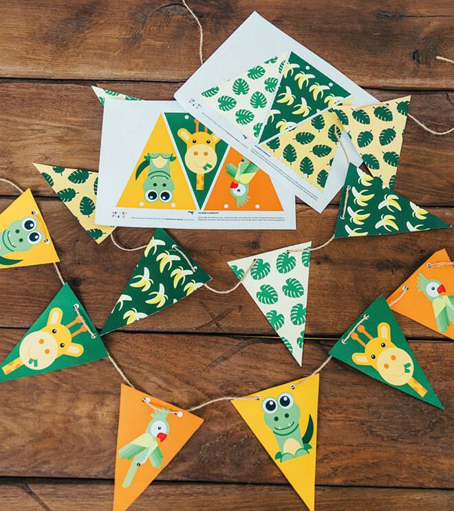 Dschungel-Kindergeburtstag-wimpelkette-shop03