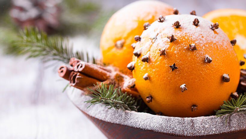 Duft-Orangen-basteln