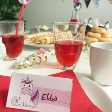 Einhorn-Kindergeburtstag-Namensschild_Shop