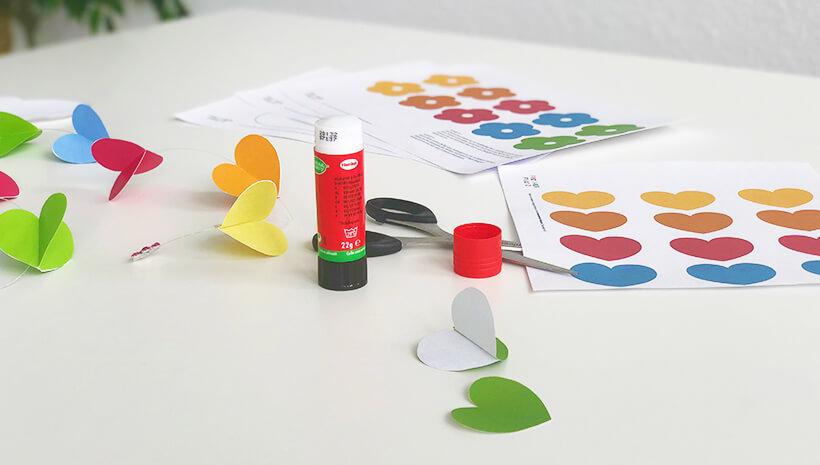 Einhorn-Kindergeburtstag-Regenbogenmobile_Schritt3