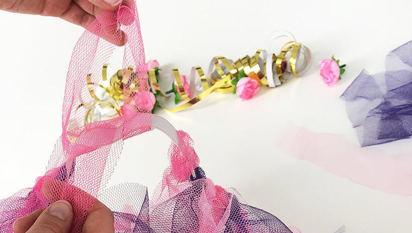 Einhorn-Kindergeburtstag-Tuellrock-basteln_Schritt5