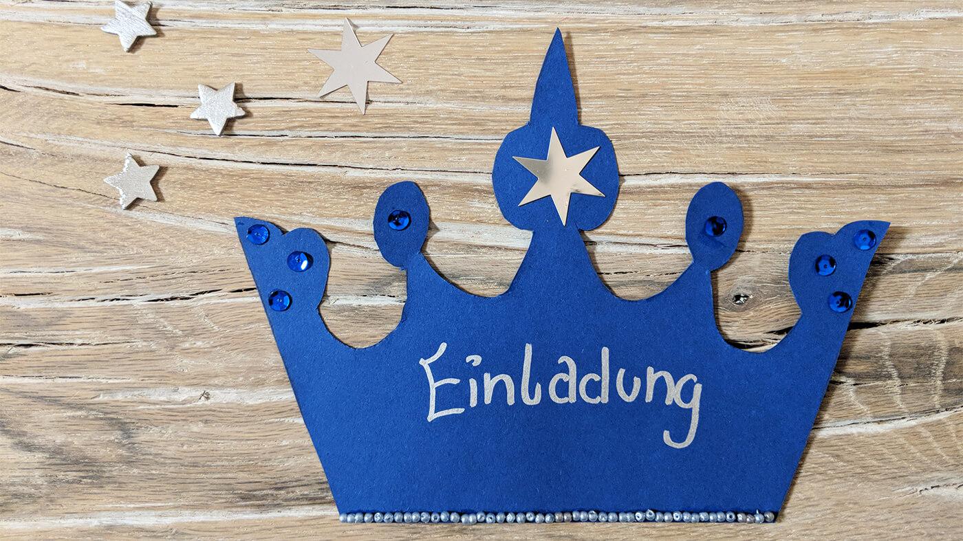 Elsau0027s Krone Als Einladung Vorlage