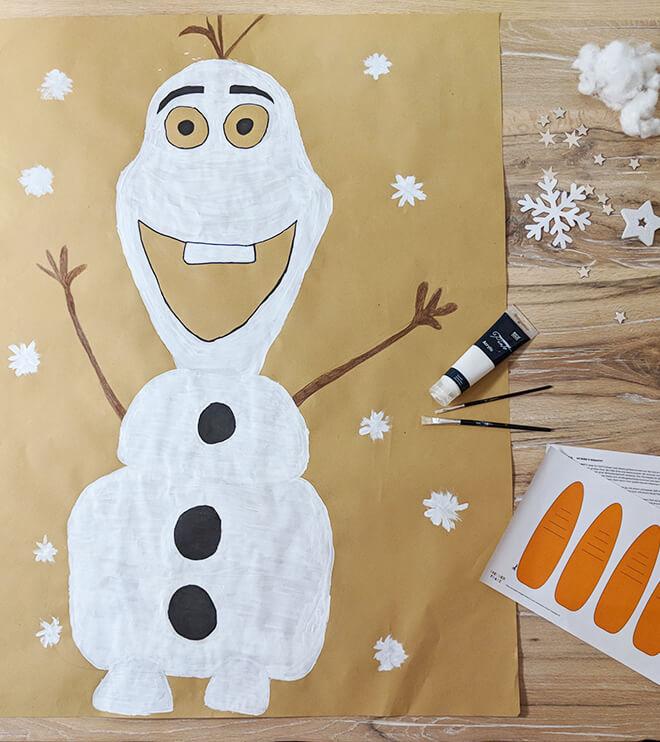 Eiskoenigin Kindergeburtstag Spiel Idee Olaf
