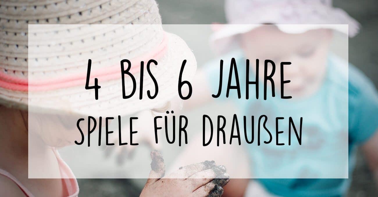 Geburtstagsspiele Fur 4 6 Jahrige Draussen Frecher Fratz