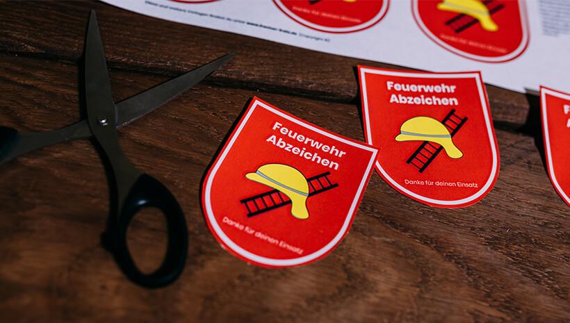 Feuerwehr-Kindergeburtstag-Feuerwehrabzeichen