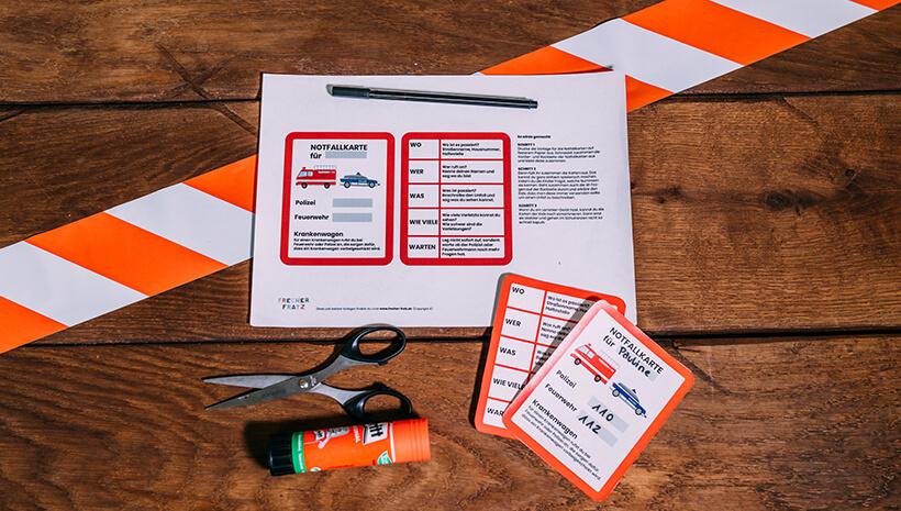Feuerwehr-Kindergeburtstag-Notfallkarte-basteln