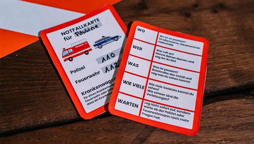 Feuerwehr-Kindergeburtstag-Notfallkarte