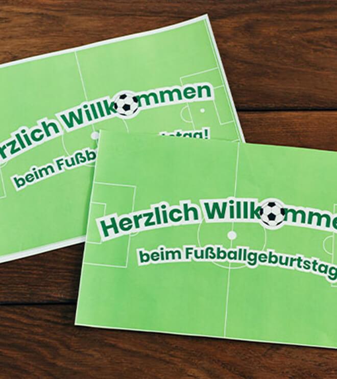 In 7 Einfachen Schritten Zum Fussball Geburtstag Frecher Fratz