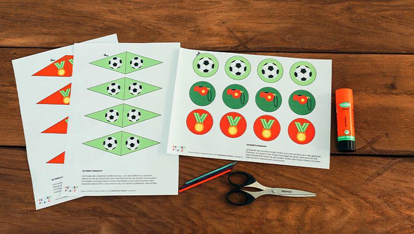Fussball-Kindergeburtstag-Dekopicker-Bastelvorlage-Geburtstag-Mottogeburtstag