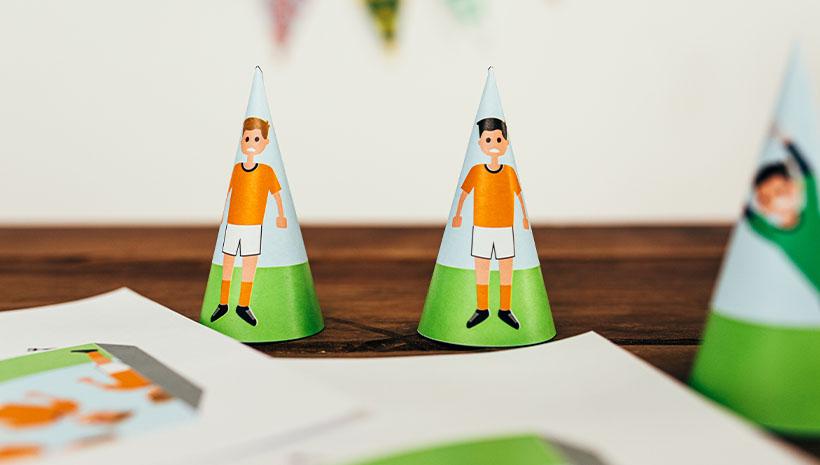 Fussball-Kindergeburtstag-Spiel-Bastelvorlage-Geburtstag-Spieler