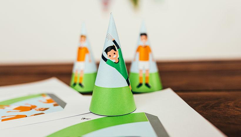 Fussball-Kindergeburtstag-Spiel-Bastelvorlage-Geburtstag-Torwart