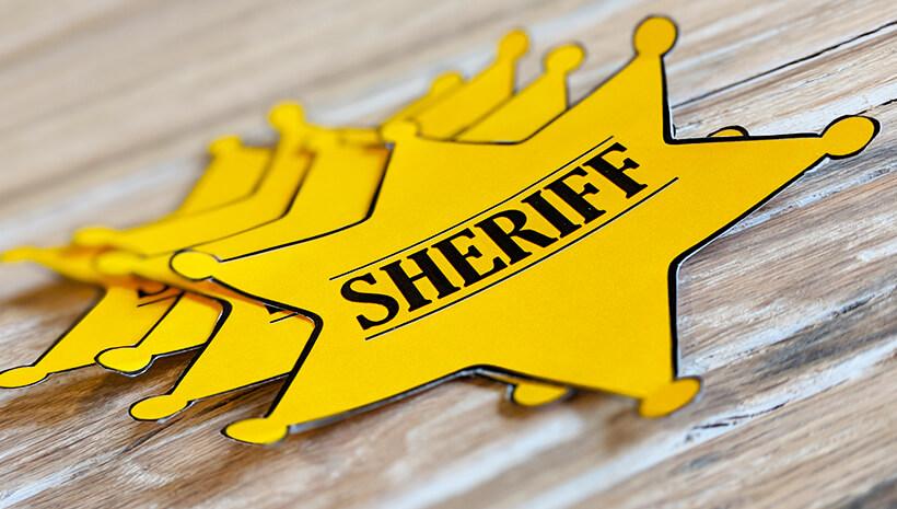 Indianer-Geburtstag-Cowboy-Sheriffstern