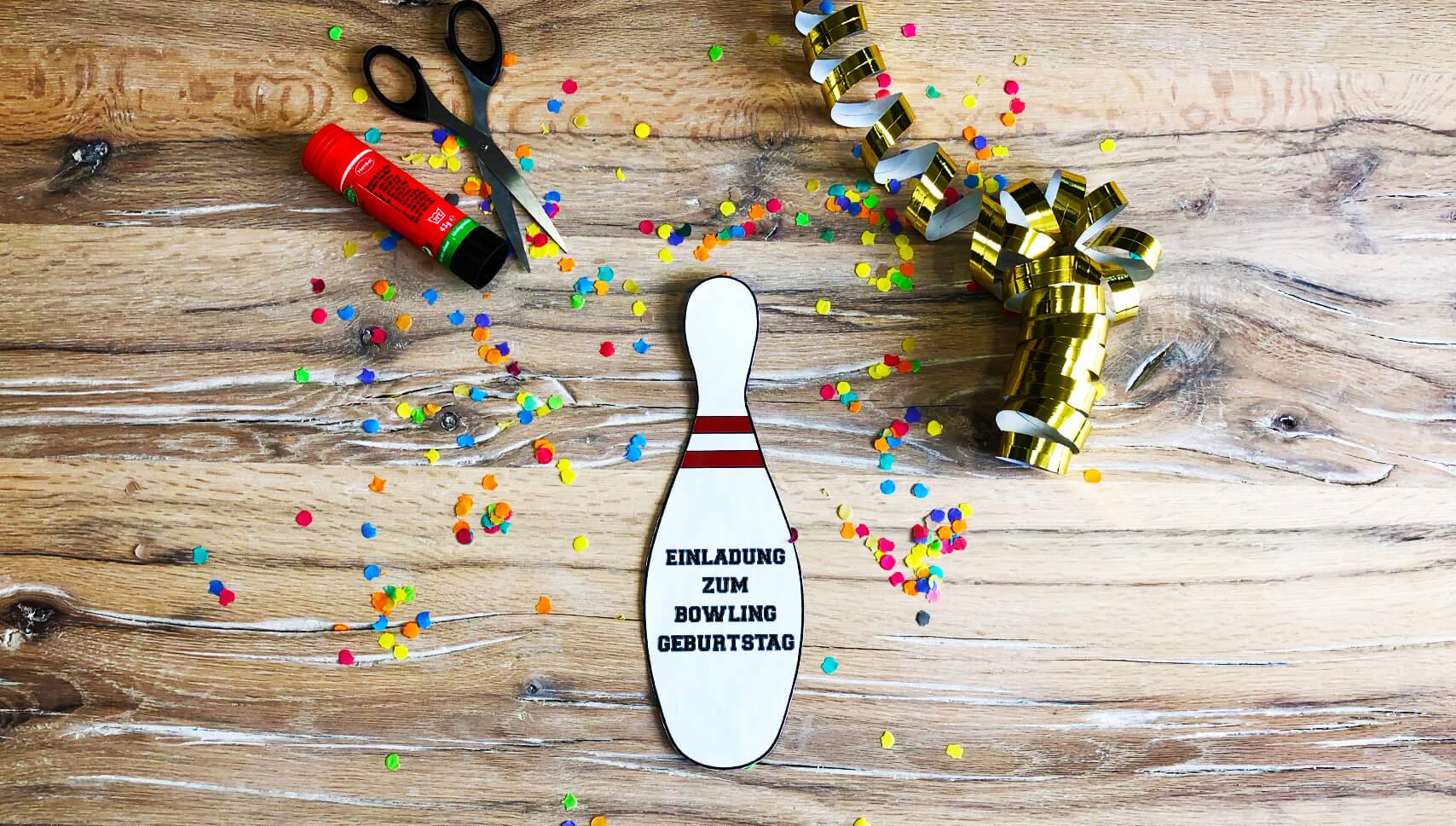 Kindergeburtstag-Bowling-Einladung-Bowlingpins