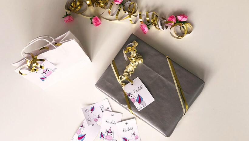 Kindergeburtstag-Geschenke-verpacken