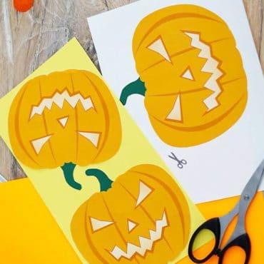 Kindergeburtstag Halloween Einladung Kuerbis