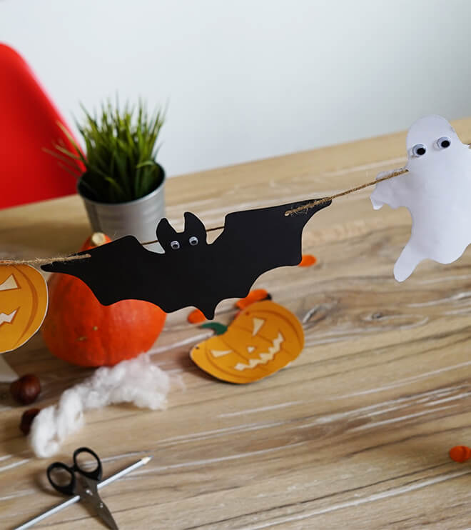 Halloween girlande frecher fratz - Halloween girlande ...