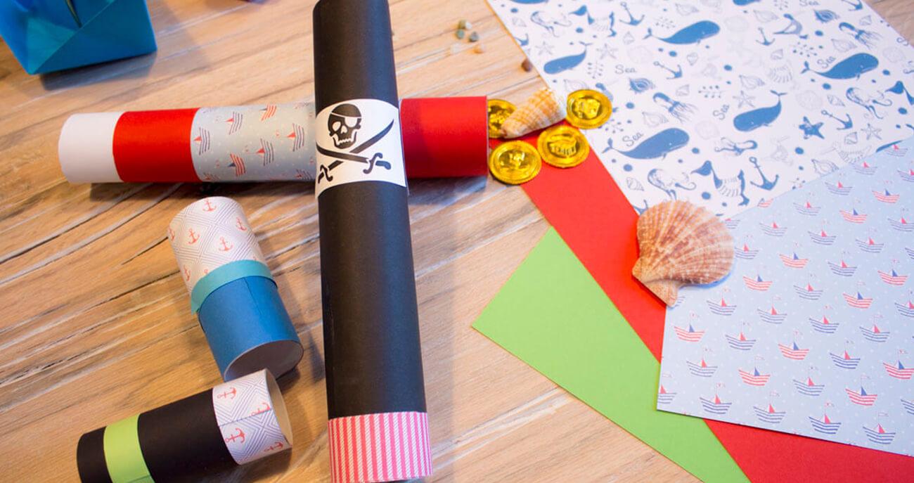 Kindergeburtstag-Piraten-Piratenkostüm-basteln