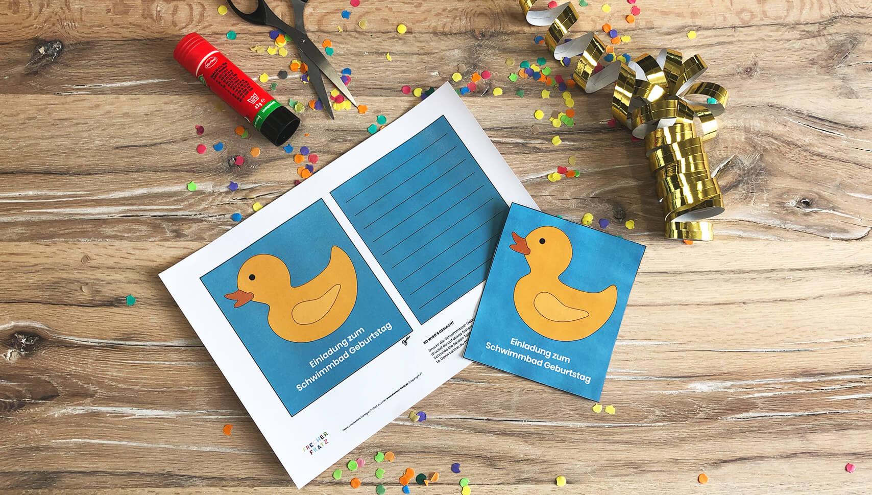 Kindergeburtstag-Schwimmbad-Einladung-Vorlage