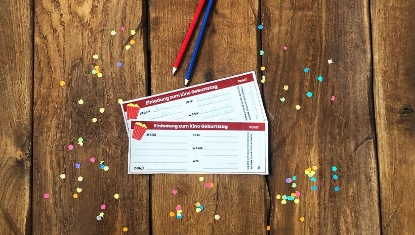 Kino-Kindergeburtstag-Kinokarte-Einladung