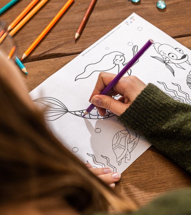 Meerjungfrau-Kindergeburtstag-Ausmalbild-Shop-2