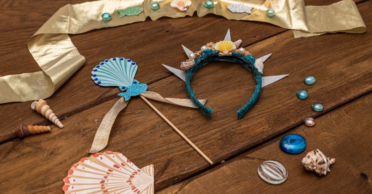 Meerjungfrau-Kindergeburtstag-Basteln-Titelbild-1