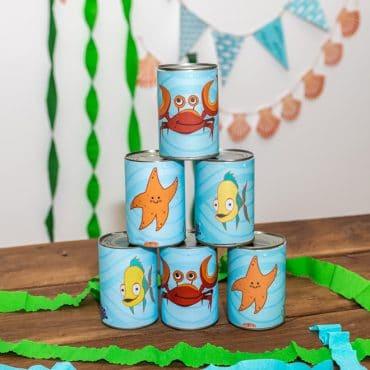 Meerjungfrau-Kindergeburtstag-Dosenwerfen-Shop-1