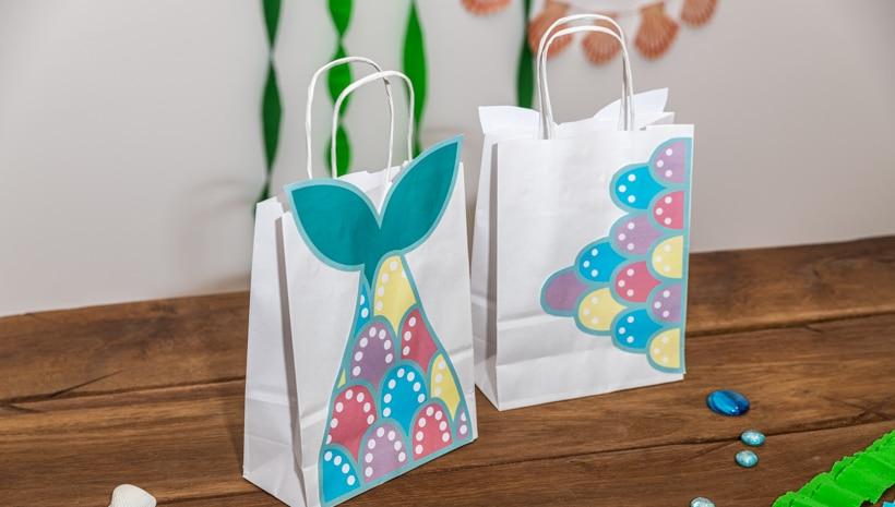 Meerjungfrau-Kindergeburtstag-Geschenktuete-1