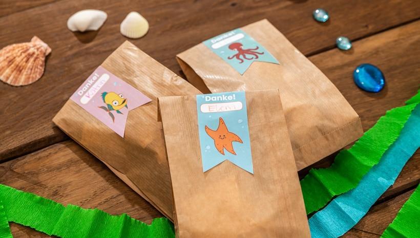 Meerjungfrau-Kindergeburtstag-Mitgebsel-Etiketten-Schritt-1