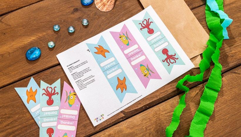 Meerjungfrau-Kindergeburtstag-Mitgebsel-Etiketten-Schritt-2