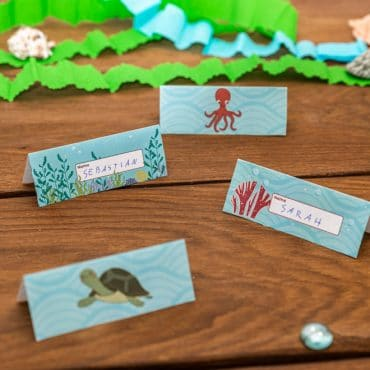 Meerjungfrau-Kindergeburtstag-Namensschilder-Shop-1