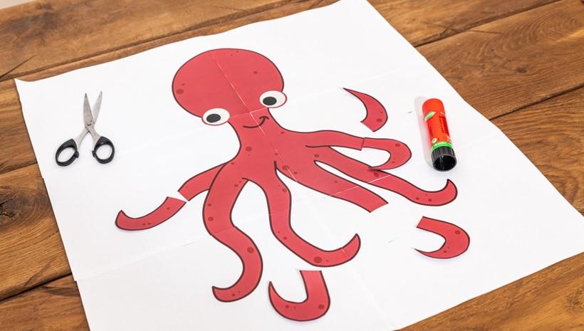 Meerjungfrau-Kindergeburtstag-Oktopus-1